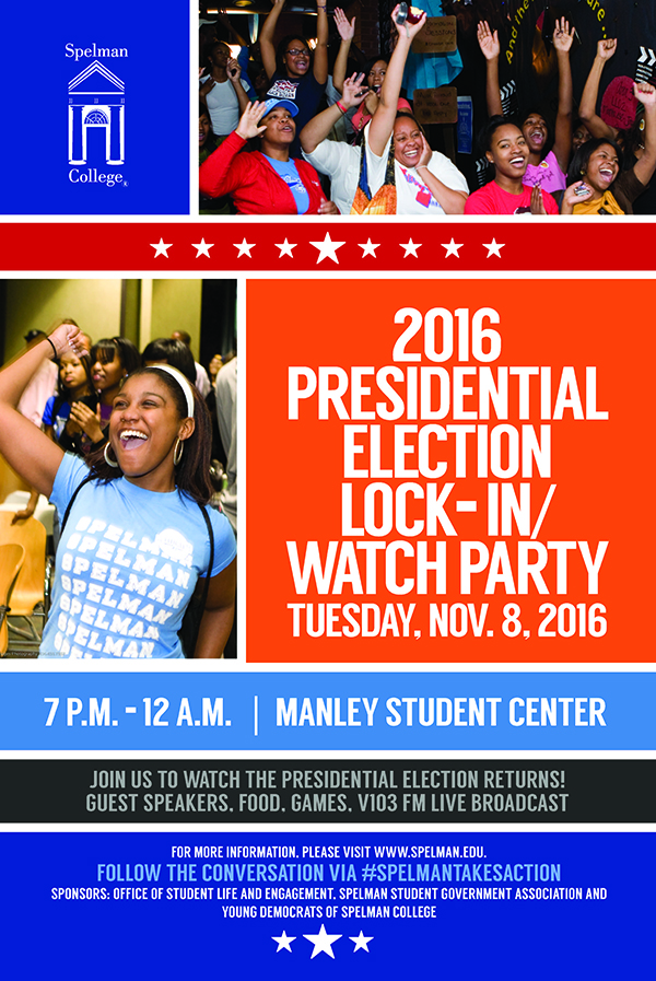 Spelman Hosts Election Lock-in 2016