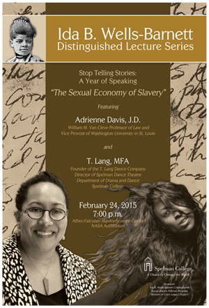 Ida B. Wells Speaker Series at Spelman College
