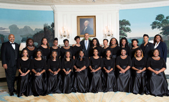 The Glee Club at the White House 2016