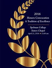 2016 Honors Convocation