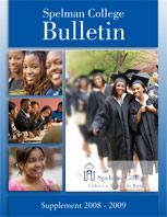 Spelman College Bulletin Supplement 2008-09