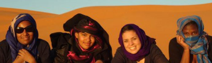Spelman Students in Morocco