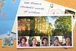 Honors Program video from Spelman College