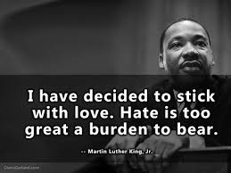 Martin Luther King on Love