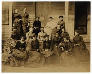 Founders With Spelman Seminary Students in 1886