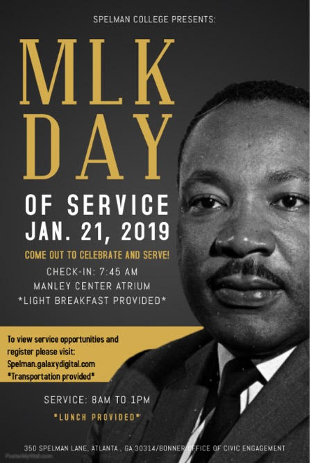 Spelman College's MLK Day of Service