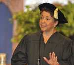 Sheila Johnson at Spelman Commencement