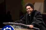 Cornel West at Spelman College Commencement 2009
