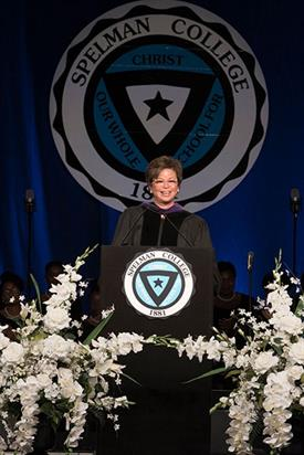 Valerie Jarret Speaks at Spelman's 2017 Commencement