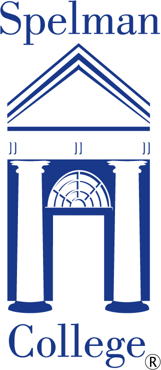 Spelman College Logo - Vertical Blue