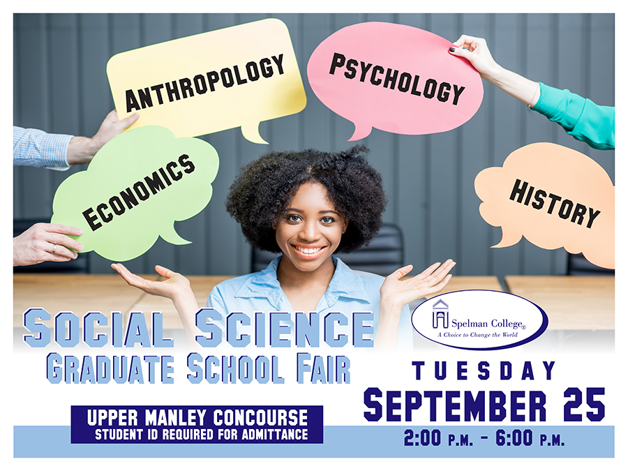 2018 Social Science Graduate Fair