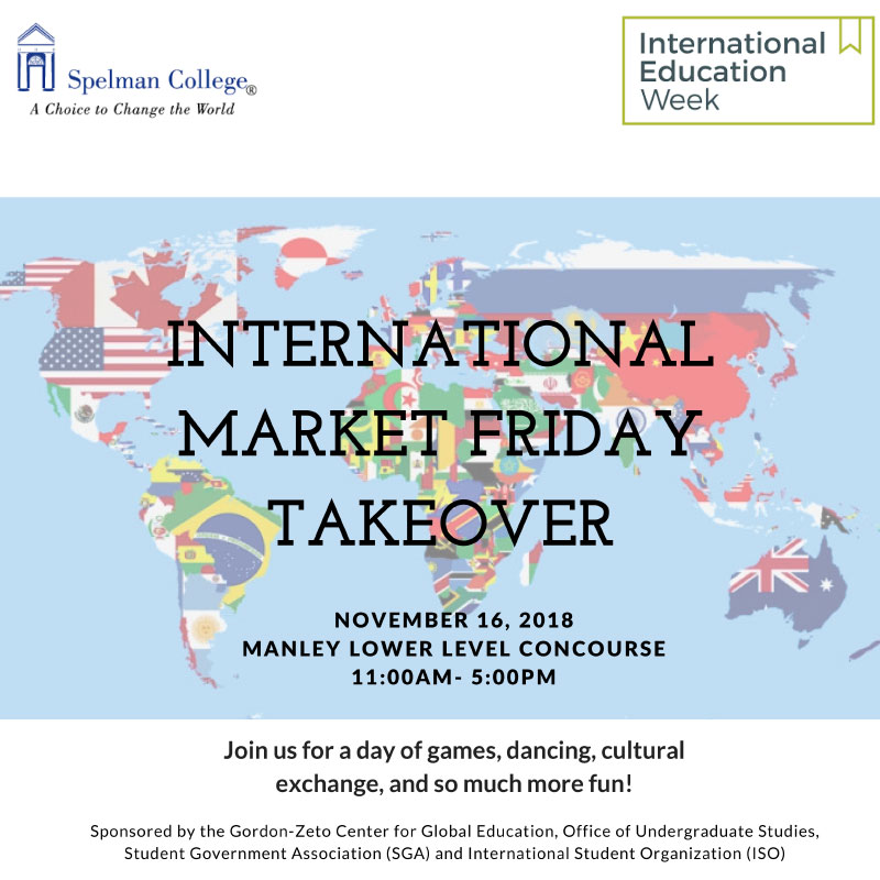 International Market Friday Takeover