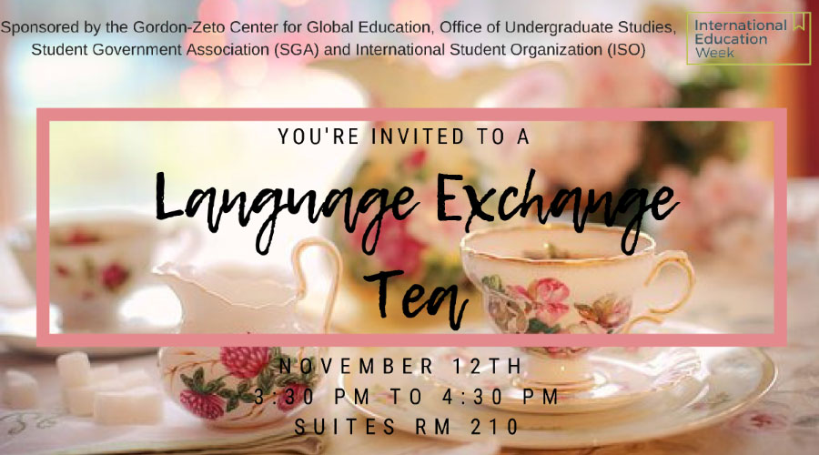 Language Exchange Tea