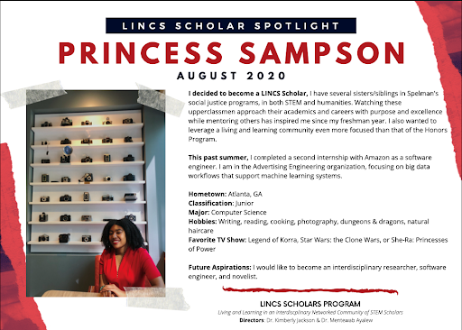 LINCS Scholar Princess Sampson
