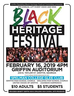 Glee Club Griffen Black Heritage Festival