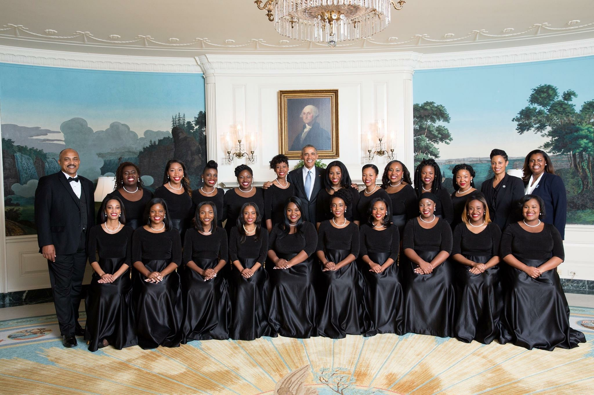 Glee Club 2016 at White House