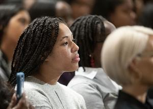 Kamala Harris Speaks at Spelman