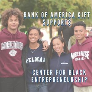 Bank of America Gift supports Center for Black Entrepreneurship