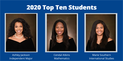 Spelman College 2020 Top 10 Students