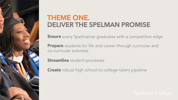 Deliver the Spelman Promise