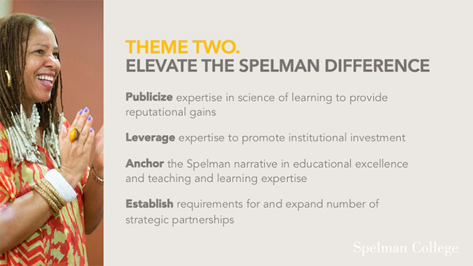 Elevate the Spelman Difference