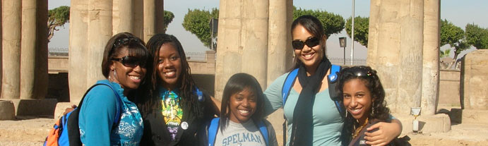 Spelman Students in Egypt