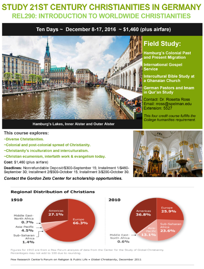 Religious Studies Germany Travel