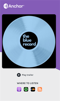 The Blue Record Podcast Trailer