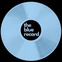 Blue Record Brand Art