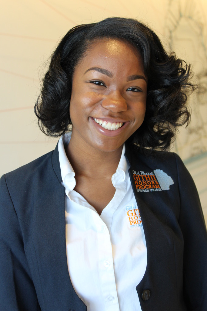 Spelman College's Bria Paige Wins Named Formation Scholar