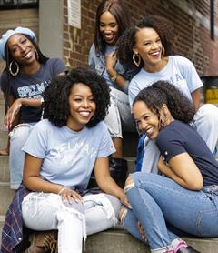 Spelman Students on Steps