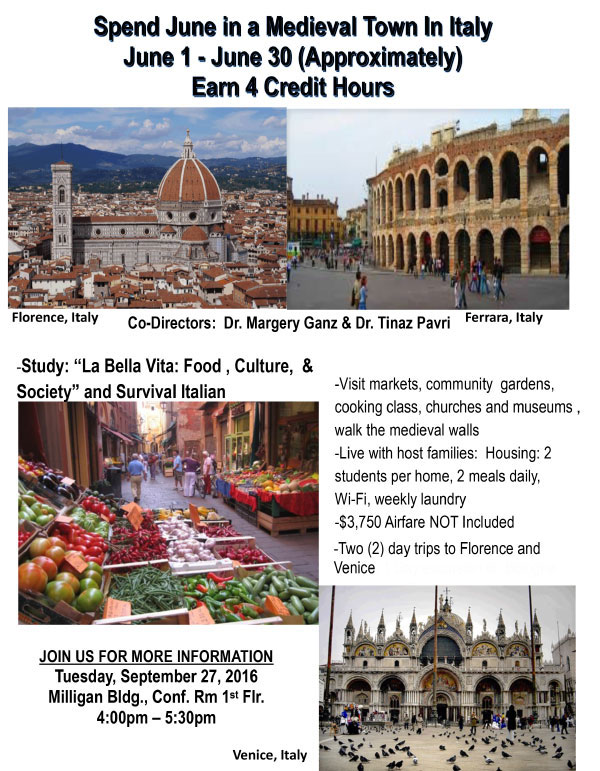 Italy Summer Study Abroad Program | Spelman College