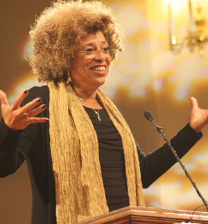 Angela Davis at the Teaching Resource and Research Center