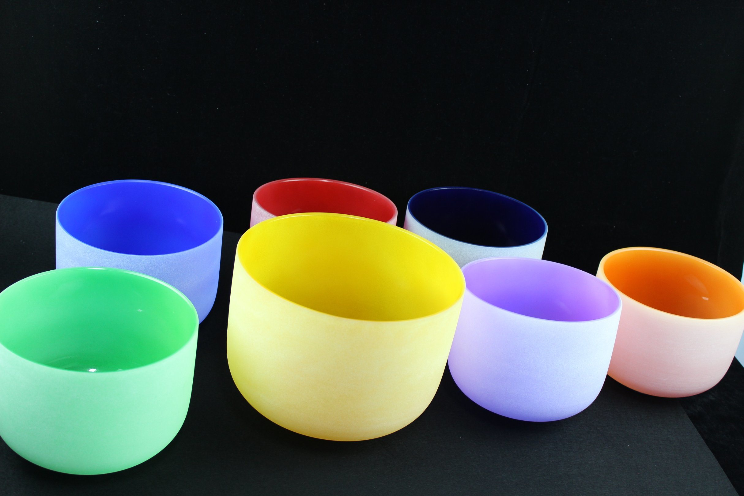 Colored-Frosted-Quartz-Crystal-Singing-Bowls-6-14-with-Free-Suede-Mallet-and-O-Ring