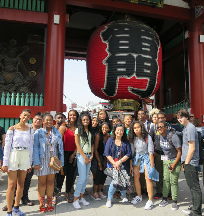 Spelman Students in Japan